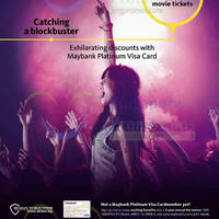 Read more about Shaw Theatres $3 OFF Movie Tickets For Maybank Visa Plat Cardmembers 25 Jul 2014 - 30 Jun 2015