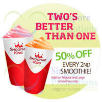 Read more about Smoothie King 50% OFF 2nd Smoothie Promo 10 - 27 Jul 2014