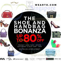 Read more about Sole 2 Sole The Shoe & Handbag Bonanza 1 - 2 Aug 2014