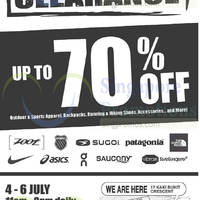 Read more about Outdoor Venture Sports Warehouse Clearance 4 - 6 Jul 2014