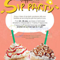 Read more about Starbucks Buy 1 Get 1 FREE Promotion 23 - 26 Jul 2014