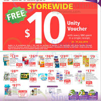 Read more about NTUC Unity Health Offers & Promotions 25 Jul - 20 Aug 2014