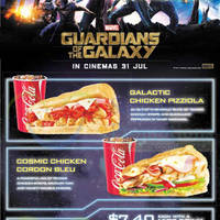 Read more about Subway NEW Guardian of the Galaxy Subs 16 Jul - 31 Aug 2014