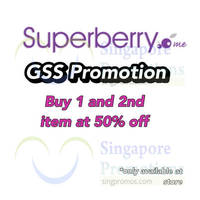 Read more about Superberry 50% OFF 2nd Item Promo 11 - 31 Jul 2014