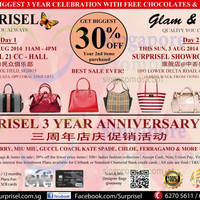 Read more about Surprisel Branded Handbags Sale @ Punggol 21 CC 2 Aug 2014