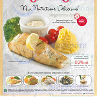 Read more about Swensen's 50% OFF Any Healthier Choice / New Dish For ANZ Cardmembers 2 Jul - 31 Aug 2014