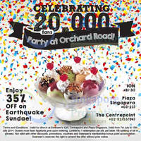 Read more about Swensen's 35% OFF Earthquake Sundae Coupon 7 - 15 Jul 2014