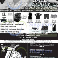 Read more about TYR Mega Sale @ Safra Jurong 25 - 28 Jul 2014