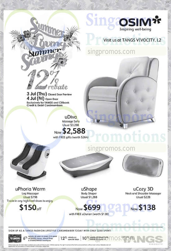 How to Use OSIM Coupons