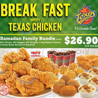 Read more about Texas Chicken Ramadan Family Bundle Combo Meal 12 Jul 2014