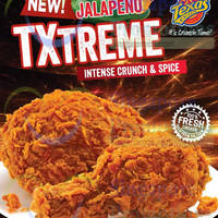 Read more about Texas Chicken NEW Jalapeno TXtreme Chicken 17 Jul 2014