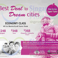 Read more about Thai Airways From $248 Promo Air Fares 24 Jul - 3 Sep 2014