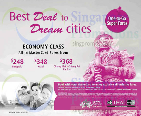 Thai Airways 24 Jul 2014