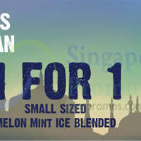 Read more about The Coffee Bean & Tea Leaf 1 for 1 Melon Mint Ice Blended Drink 29 Jun - 12 Jul 2014