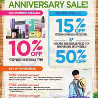 Read more about The Face Shop 10% OFF Storewide Promo @ Wisma Atria 14 - 20 Jul 2014