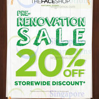 Read more about The Face Shop 20% OFF Storewide Promo @ Raffles City 18 - 31 Jul 2014
