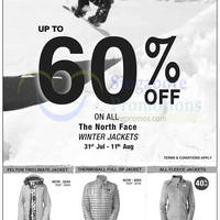 Read more about Outdoor Life The North Face Winter Jackets Promotion 31 Jul - 11 Aug 2014