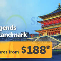 Read more about Tigerair Xi'an From $188 (All-in) Promo Air Fares 21 - 27 Jul 2014