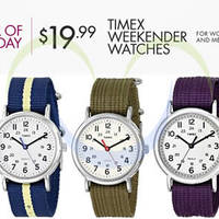 Read more about Timex 50% OFF Watches 24hr Promo 17 - 18 Jul 2014