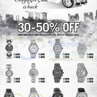 Read more about Titan Watches GSS Offers 30 May - 27 Jul 2014