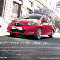 Read more about Toyota Yaris Features & Offer 19 Jul 2014