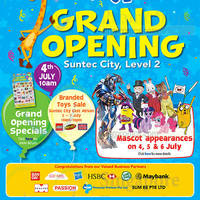 "Read more about Toys ""R"" Us Grand Opening Specials @ Suntec 2 - 7 Jul 2014"