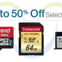 Read more about Transcend Up To 50% OFF USB Drives, Memory Cards, SSDs & More 24hr Promo 31 Jul - 1 Aug 2014