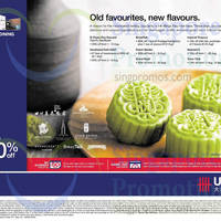Read more about UOB Up To 50% OFF Mooncakes 31 Jul - 8 Sep 2014