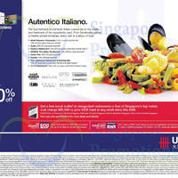 Read more about UOB 1 For 1, Up To 20% OFF & More Italian Dining Promotions 17 Jul 2014