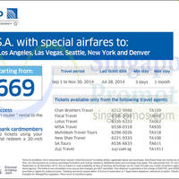 Read more about United Airlines USA Promo Air Fares 18 - 28 Jul 2014