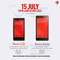 Read more about Xiaomi Redmi Note & Redmi 1S Restocked Sale 15 Jul 2014