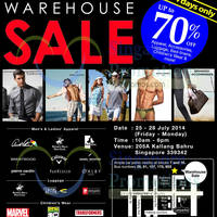 Read more about YG Marketing Warehouse SALE Up To 70% OFF 25 - 28 Jul 2014