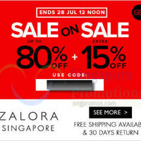 Read more about Zalora 15% OFF Storewide (NO Min Spend) Coupon Code 25 - 28 Jul 2014