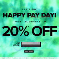 Read more about Zalora 20% OFF Storewide (NO Min Spend) Coupon Code 29 Jul - 1 Aug 2014