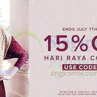 Read more about Zalora 15% OFF Selected Hari Raya Items Promo 4 - 7 Jul 2014
