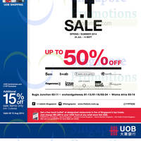 Read more about I.T Labels SALE 24 Jul - 14 Sep 2014