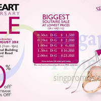 Read more about GoldHeart 40th Anniversary Sale 29 Aug - 1 Sep 2014