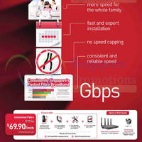 Read more about Singtel NEW $69.90 Unlimited Fibre Speed Plan 29 Aug 2014