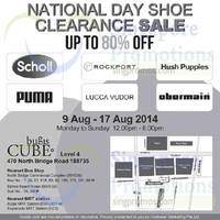 Read more about Footwear Marketing Shoe Clearance Sale 2 - 17 Aug 2014