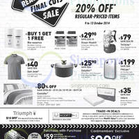 Read more about John Little 20% Off Storewide Real Hot Sale 28 Aug 2014