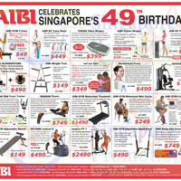 Read more about Aibi Fitness Equipment National Day Promo Offers 5 Aug 2014