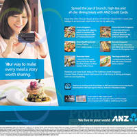 Read more about ANZ One Dines FREE Dining Deals 1 Aug - 31 Oct 2014