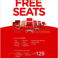 Read more about Air Asia FREE Seats Promotion 25 - 31 Aug 2014