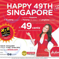 Read more about Air Asia From 49 Cents Promo Air Fares 8 - 10 Aug 2014