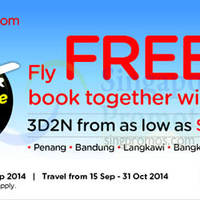 Read more about Air Asia Go Book A Hotel & Fly FREE 1 - 7 Sep 2014