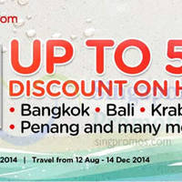 Read more about Air Asia Go Up To 50% OFF Hotels Promo 11 - 17 Aug 2014