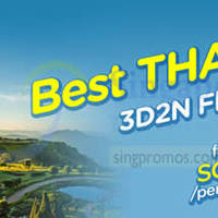Read more about Air Asia Go From $99 3D2N Thailand Flights & Hotels Promo 14 - 24 Aug 2014