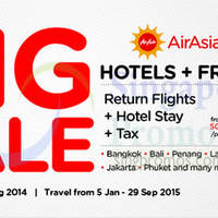 Read more about Air Asia Go Book A Hotel & Get FREE Flights 25 - 31 Aug 2014