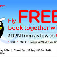 Read more about Air Asia Go Book A Hotel & Get FREE Flights 4 - 10 Aug 2014