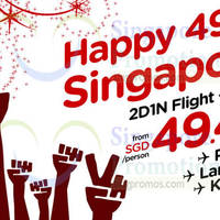 Read more about Air Asia Go From $49.49 2D1N Flights & Hotels Promo 9 - 10 Aug 2014